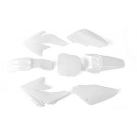 Set plastik CRF70 bele barve